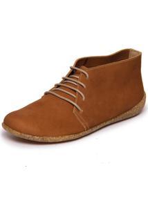 Sapato Manaca Em Couro - Havana 7547