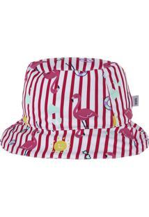 Chapéu Infantil Bebê Menina Estampado
