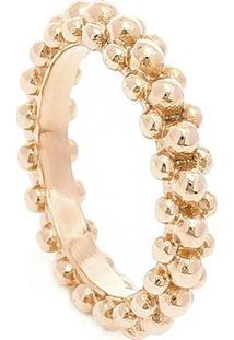 Anel De Microesferas Rose - Feminino-Rose Gold