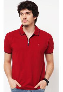 Camisa Polo Aramis Stan Vermelha