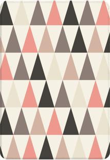 Tapete Sala Love Decor Wevans Multi Triângulos Único