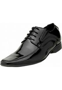 Sapato Vecchiato Verniz Social - Masculino