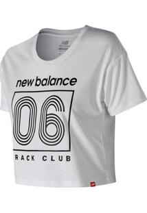 Camiseta De Manga Curta New Balance T 06 Feminino - Feminino