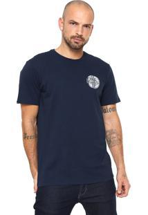 Camiseta Rusty Moon Azul-Marinho
