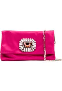 Jimmy Choo Clutch Titania - Rosa