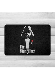 Capacho Ecológico Geek Side - The Your Father Geek10 - Preto