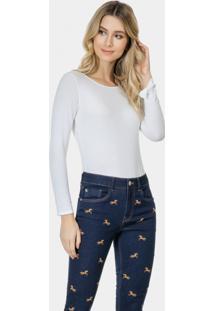 Calça Skinny Cropped Bali Elastic Jeans - Lez A Lez