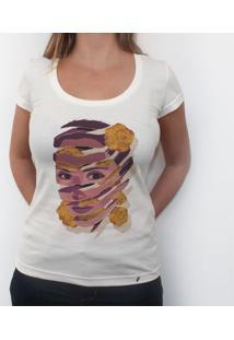 Na Flor Da Pele - Camiseta Clássica Feminina