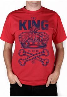 Camiseta Bleed American King Is Dead Vermelha