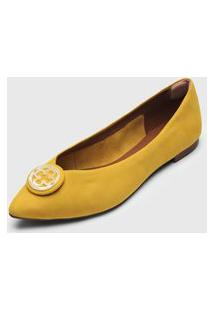 Sapatilha Capodarte Logo Amarela