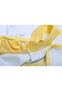 Capa Amamentação Cuca Criativa Amarelo