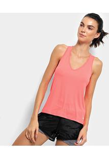 Camiseta Regata Fila Bio Ii Feminina - Feminino-Coral