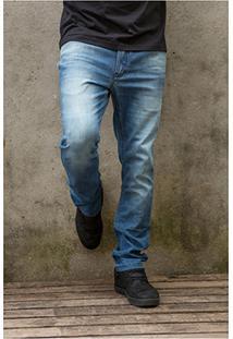 Calça Jeans Mcd Denim New Slim Stone Masculina - Masculino-Jeans