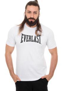 Camiseta Everlast Logotipia Branco