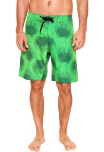 Bermuda Água Fiveblu On Tone Palms Verde