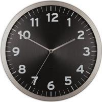 a6abc4ce656 Relógio De Parede Anytime 32 Cm Preto