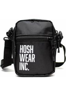 Shoulder Bag Hoshwear All Black - Unissex