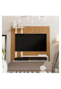 Painel Para Tv Smart Plus - Nature / Off White - Mania De Móveis