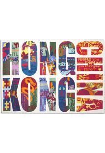 Tapete Citta Hong Kong Branco