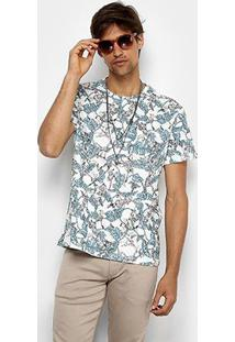 Camiseta Reserva Estampada Liberty Tree Masculina - Masculino
