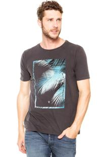 Camiseta Vr Estampada Cinza