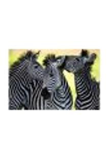 Painel Adesivo De Parede - Zebras - Animais - 1669Pnm