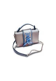 Bolsa Qianfeiya Cadarço - Azul