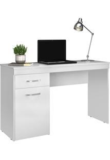 Escrivaninha 1 Porta Vitoria Branco Demobile - Branco - Dafiti