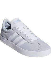 Tênis Adidas Vl Court 2.0 Feminino - Feminino-Cinza