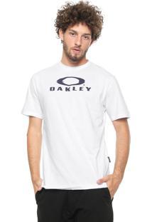 Camiseta Oakley Glitch Branded Branca