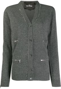 Marc Jacobs Cardigan 'The Punk' - Cinza