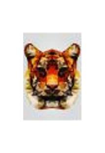 Painel Adesivo De Parede - Tigre - Animais - 1658Png