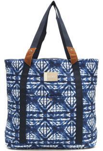 Bolsa Tote Roxy Other Side Azul