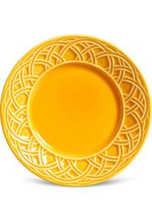 Conjunto 6Pçs Pratos De Sobremesa Porto Brasil Cestino Amarelo