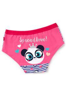 Calcinha Caleçon Panda Kids 4