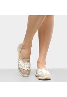 Alpargata Shoestock Bordado Flores Feminina - Feminino