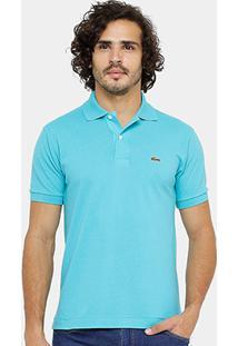 7be88839085ad ... Camisa Polo Lacoste Piquet Original Fit Masculina - Masculino-Azul  Turquesa