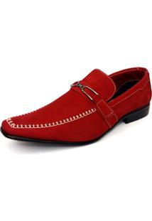 Sapato Social Sartre Vermelho