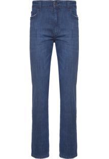 Calça Masculina Straight Comfort - Azul