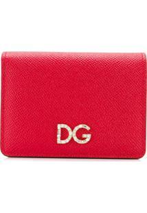 Dolce & Gabbana Carteira Dg - Vermelho