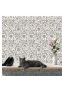 Papel De Parede Autocolante Rolo 0,58 X 3M - Vintage Floral 285661541