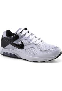 Tenis Masc Nike 418115-113 Air Max Go Strong Branco/Preto/Prata