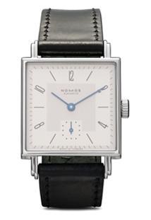 Nomos Glashütte Relógio Tetra 27Mm Branco E Prateado - White, Silver-Plated