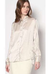 232f57d0e0 ... Arabescos - Cinza   Verdeversace Collection. Ir para a loja  -72% Camisa  Belle Em Seda - Cinzale Lis Blanc