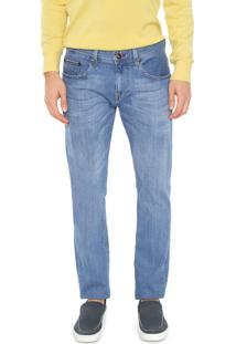 Calça Jeans Tommy Hilfiger Slim Denton Bainvil Azul