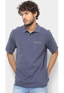 Camisa Polo Hang Loose Cord Masculina - Masculino