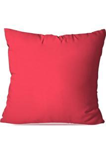 Capa De Almofada Avulsa Rosa Pink 45X45Cm - Kanui