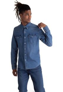 Camisa Jeans Levis Classic Western - Xl