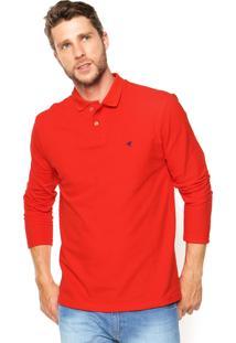 Camisa Polo Malwee Slim Vermelha