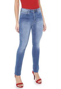 Calça Jeans Carmim Skinny Emana Basic Azul